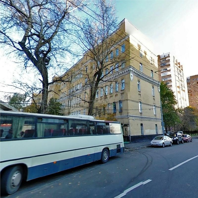 2-й павловский переулок, дом 26 на карте москвы